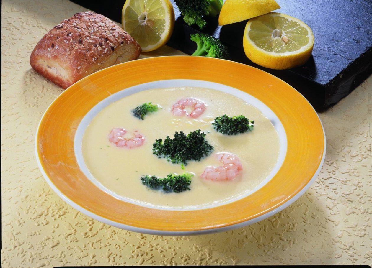 Blumenkohlsuppe mit Garnelen - BCM Diät Rezepte.de