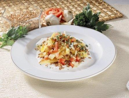 Dinkel-Steckrüben-Gemüse - BCM Diät Rezepte.de