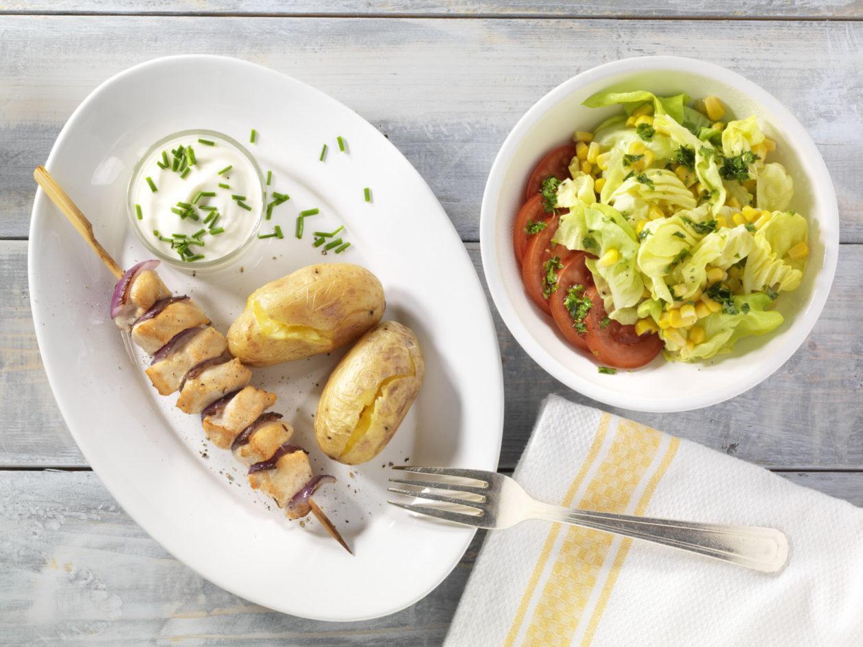 Fleischspieße zum Grillen - BCM Diät Rezepte.de