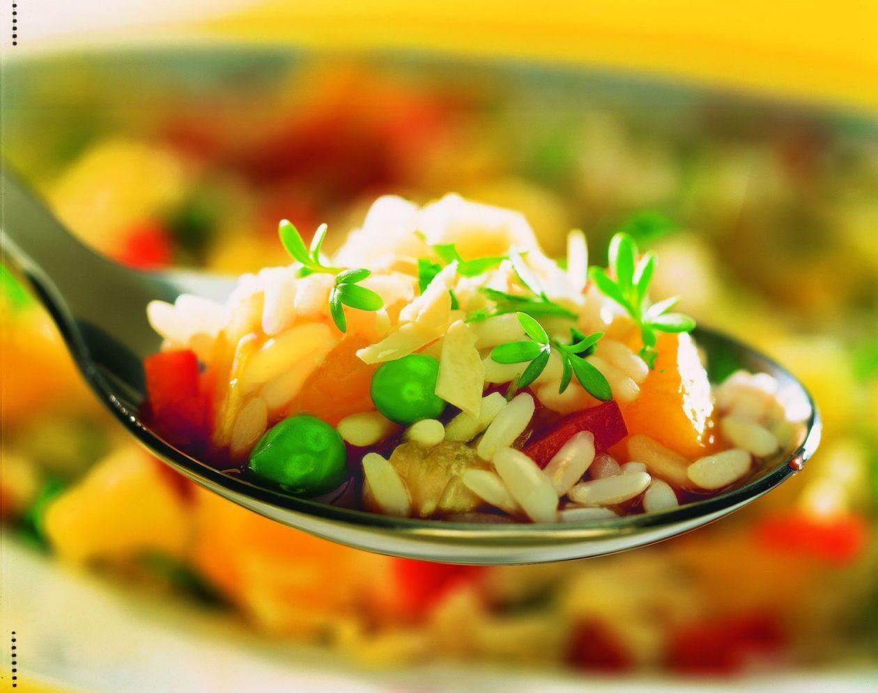 Fruchtiger Reissalat - BCM Diät Rezepte.de