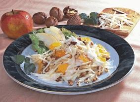Fruchtiger Waldorfsalat - BCM Diät Rezepte.de