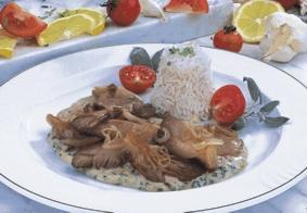 Gebratene Austernpilze - BCM Diät Rezepte.de