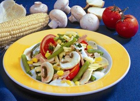 Gemüse-Mais-Salat - BCM Diät Rezepte.de