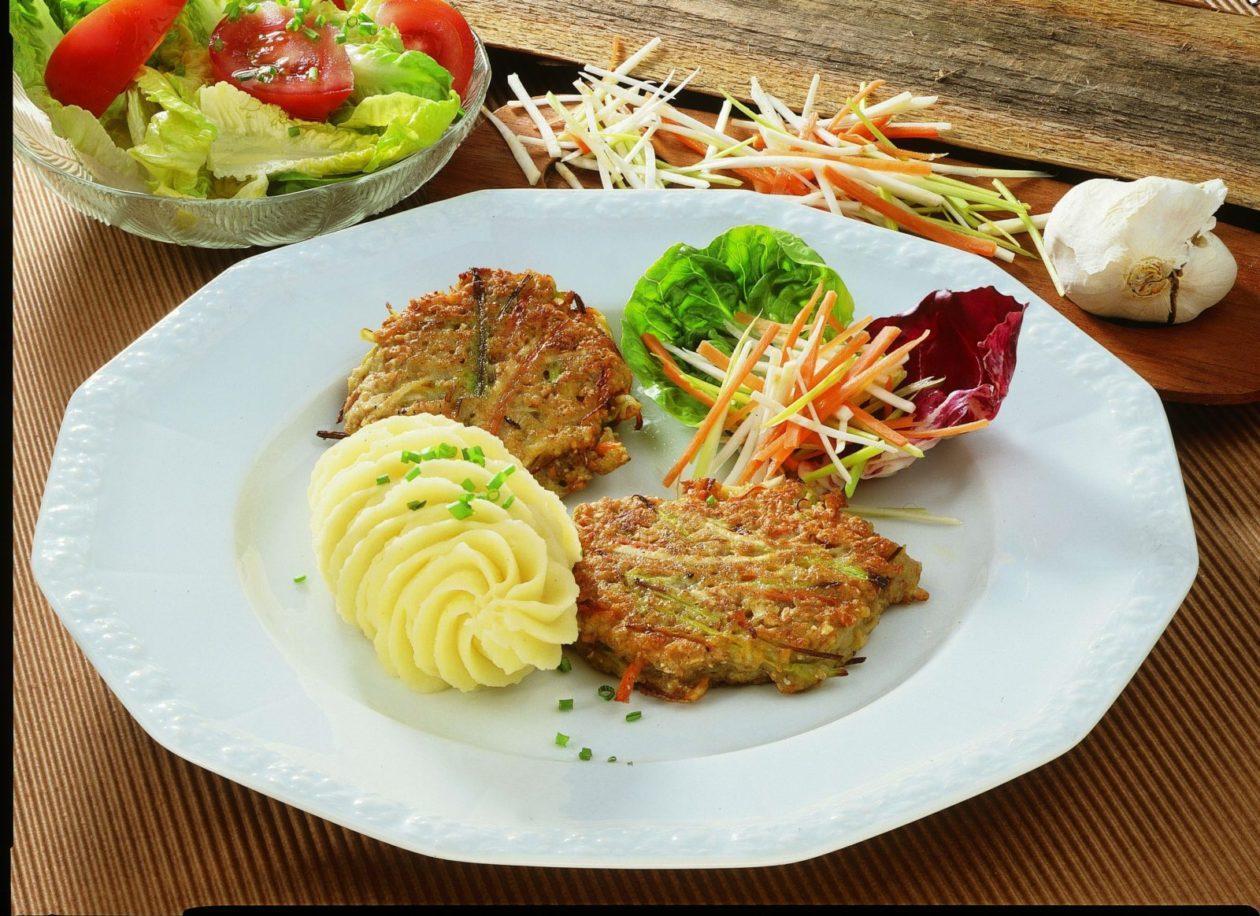 Gemüsepuffer - BCM Diät Rezepte.de