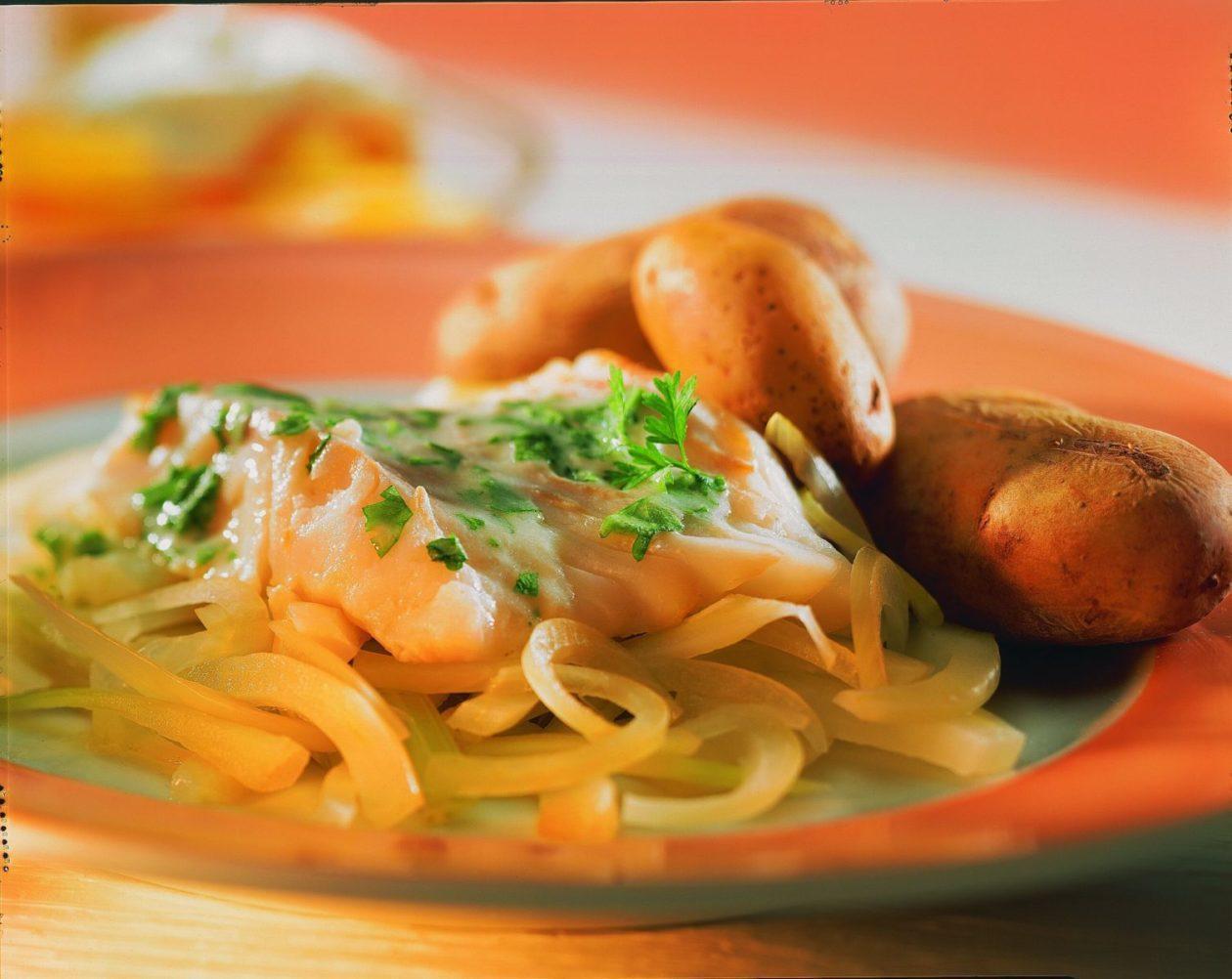 Kabeljaufilet auf Fenchel - BCM Diät Rezepte.de