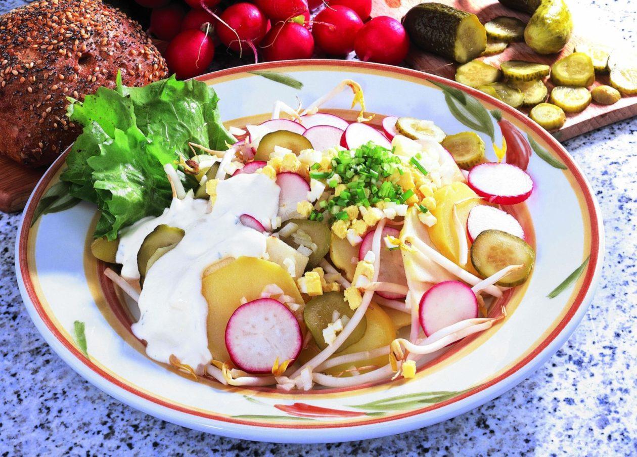 Kartoffel-Ei-Salat - BCM Diät Rezepte.de