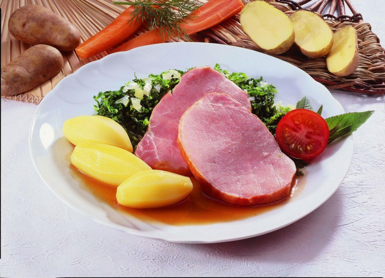Kasseler mit Grünkohl - BCM Diät Rezepte.de