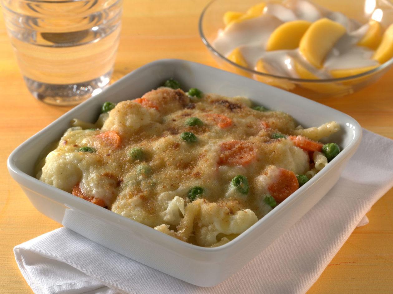 Makkaroni-Gemüseauflauf - BCM Diät Rezepte.de