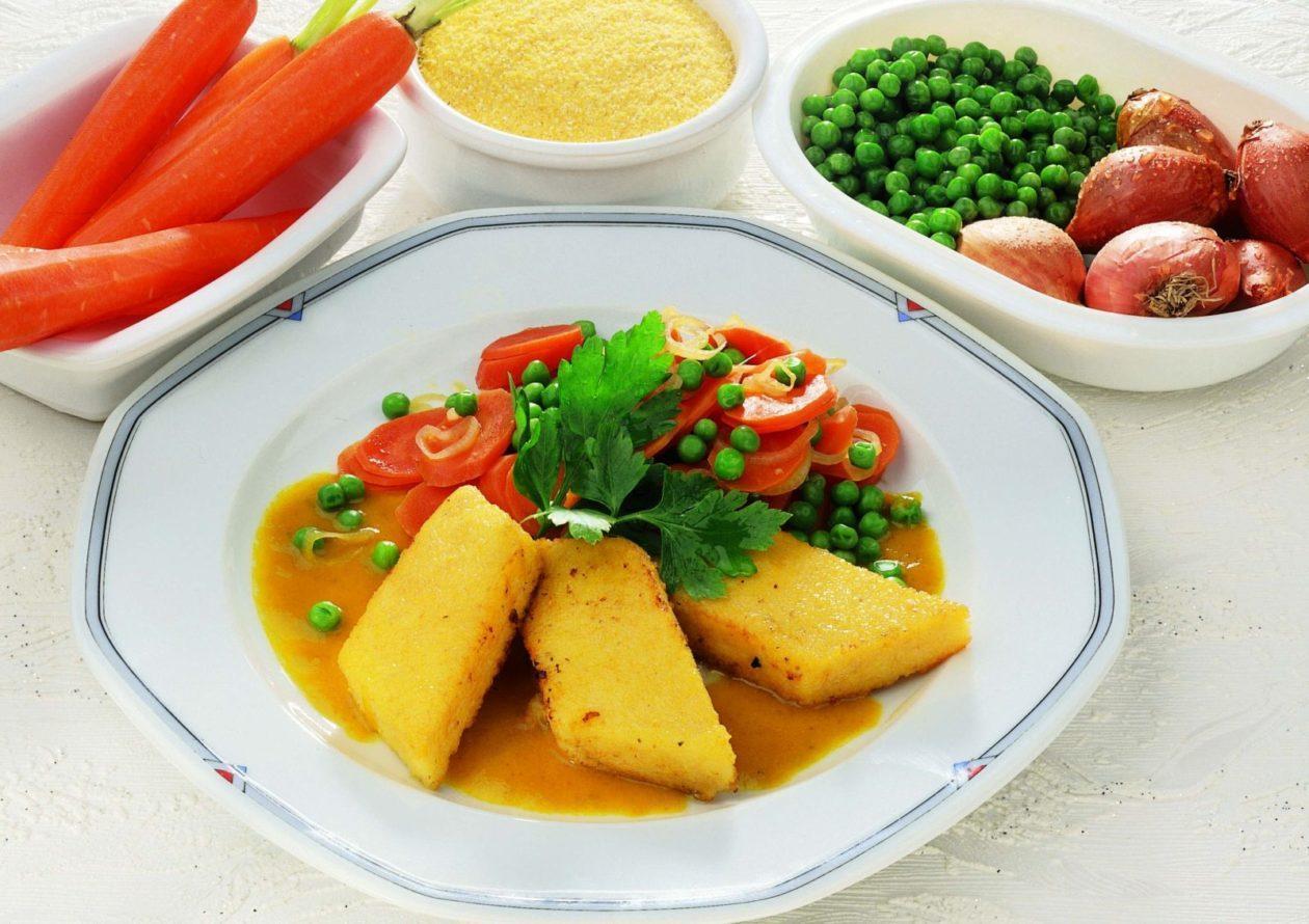 Polenta mit Karottencurry - BCM Diät Rezepte.de