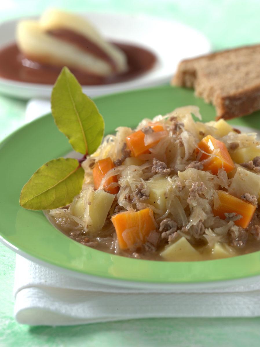 Sauerkrauttopf mit Hackfleisch - BCM Diät Rezepte.de