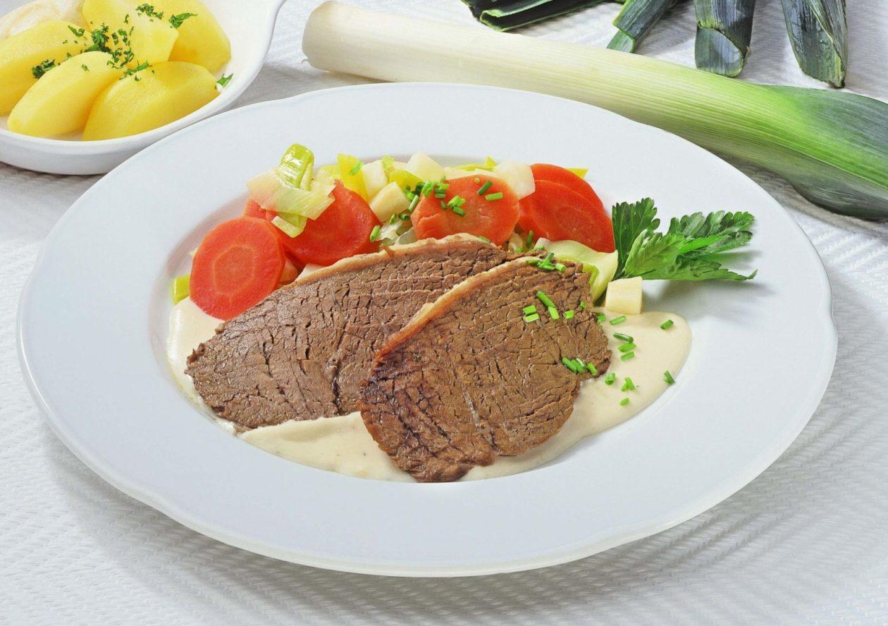 Tafelspitz mit Semmelkren - BCM Diät Rezepte.de