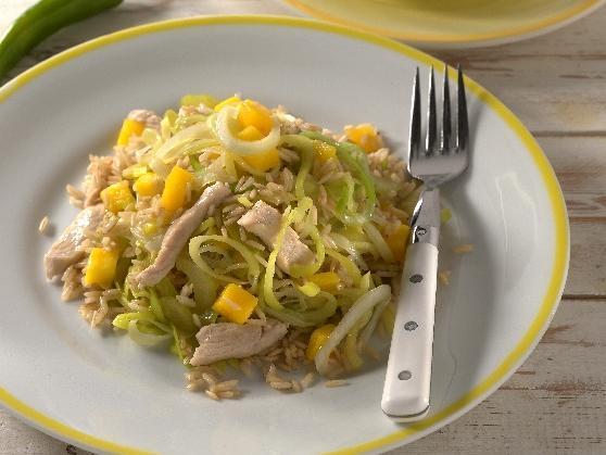 Feuriger Hähncheneintopf mit Mango - BCM Diät Rezepte.de