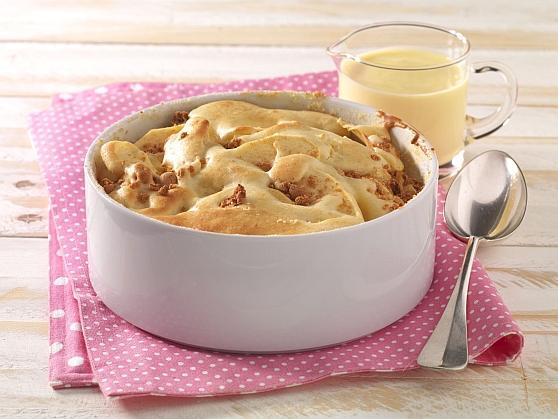 Apfelauflauf mit Amaretti - BCM Diät Rezepte.de
