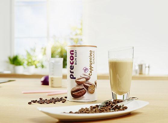 abnehmen ohne hungern precon cappuccino shake 558x407px 1