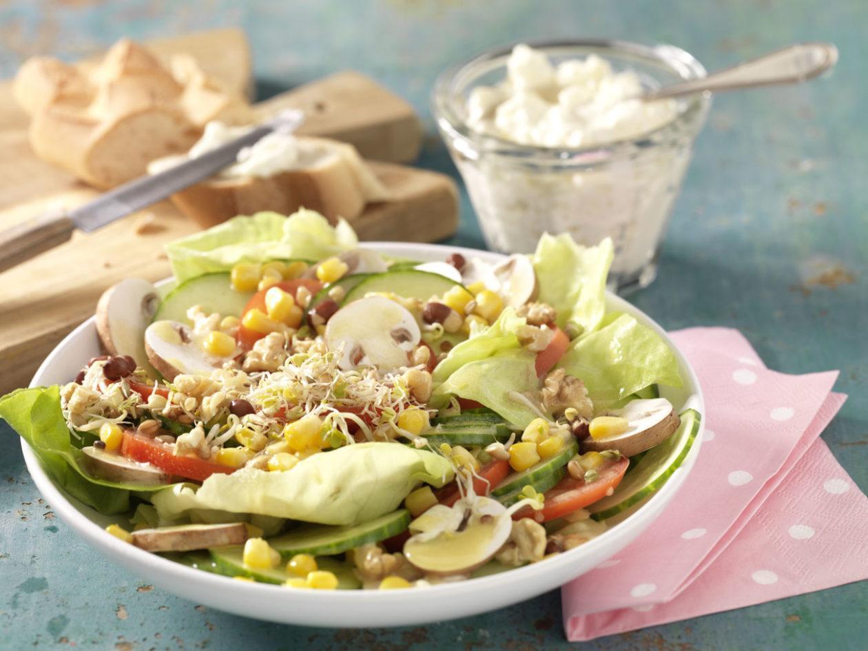 Fitness-Salatteller - BCM Diät Rezepte.de