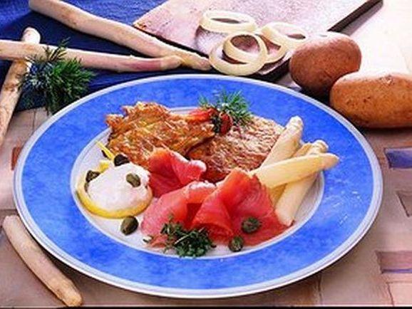 Kartoffelrösti mit Räucherlachs - BCM Diät Rezepte.de