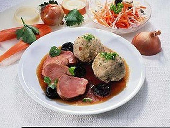 Schweinelendchen mit Backpflaumen - BCM Diät Rezepte.de