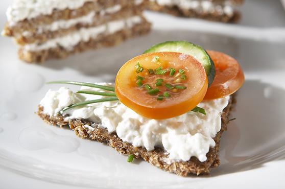 Mischkostmahlzeit bei der Precon Diät: Brot Aufstrich