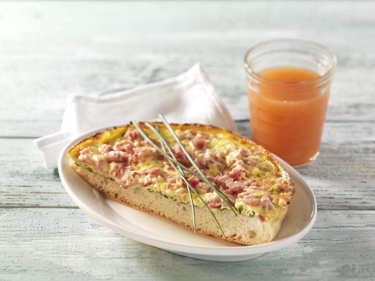 Käse-Schinken-Omelett - BCM Diät Rezepte.de
