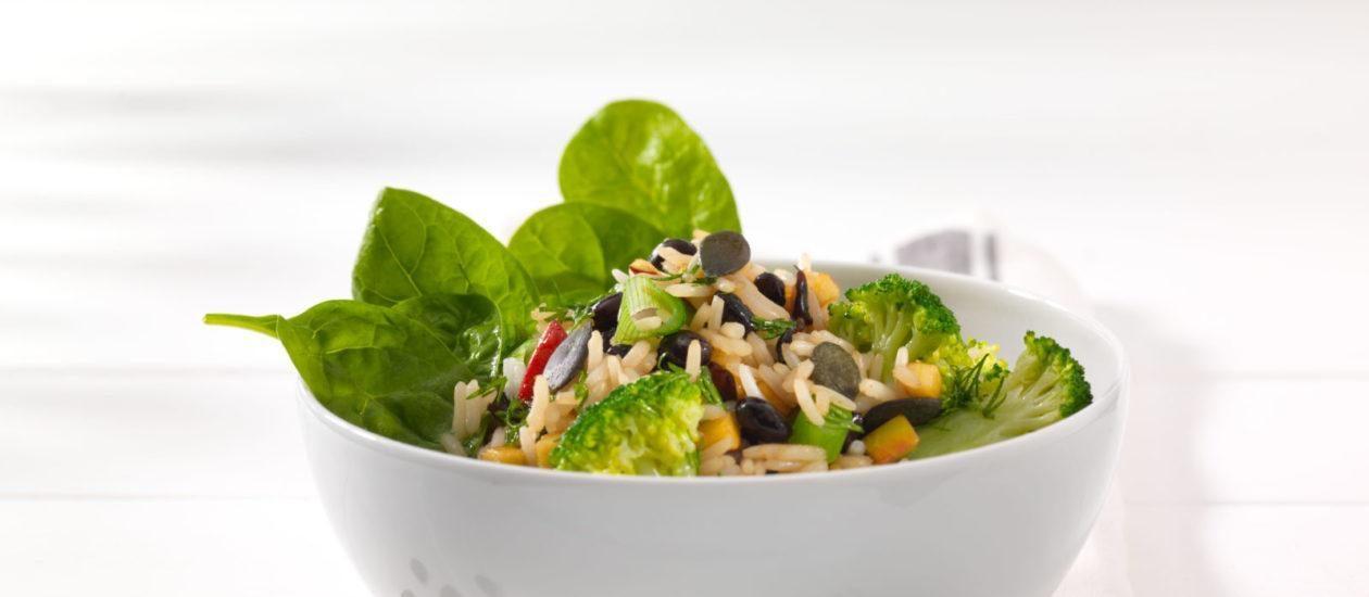 Reis Bowl Brokkoli Bohnen Dill WP 1