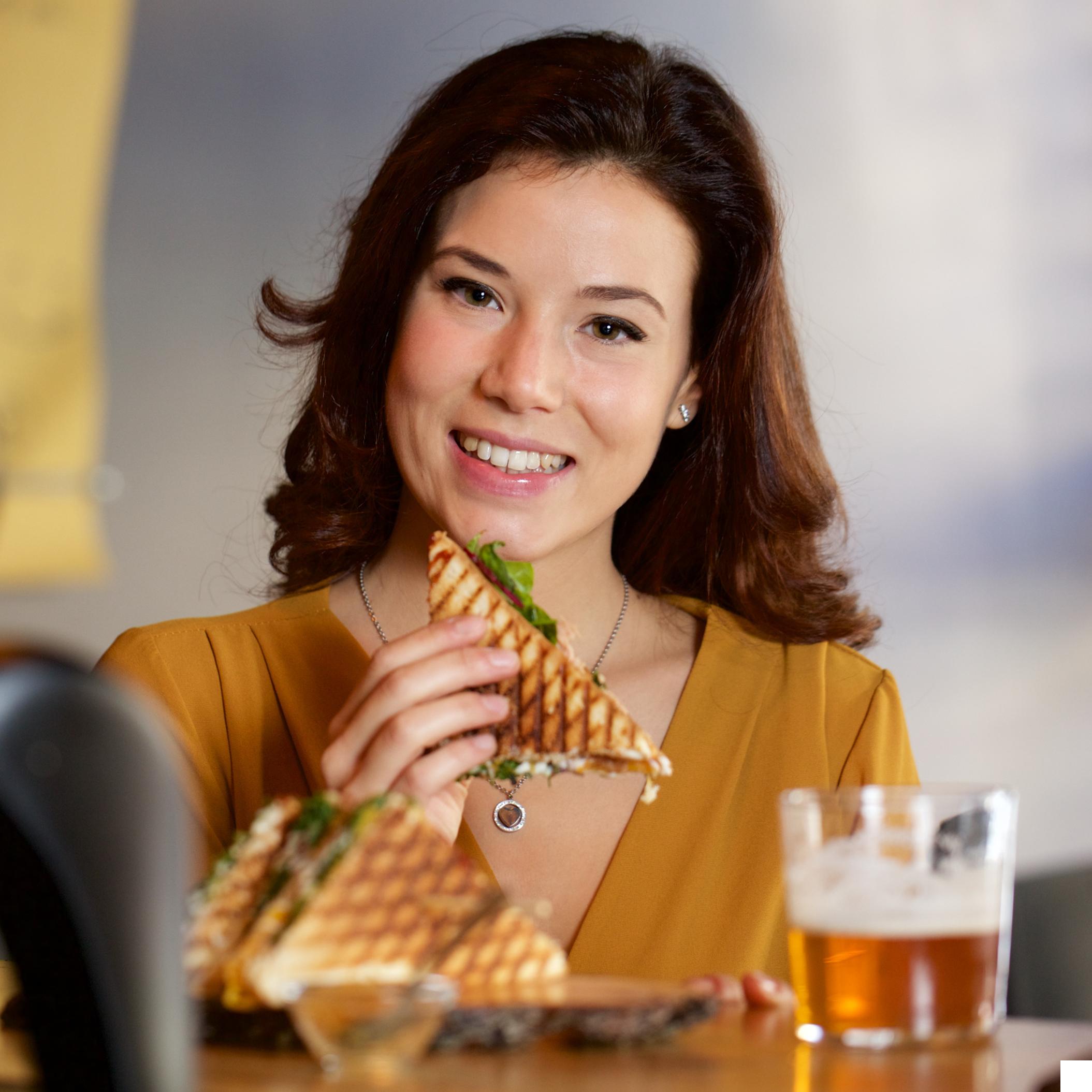 Gemütlich-essen