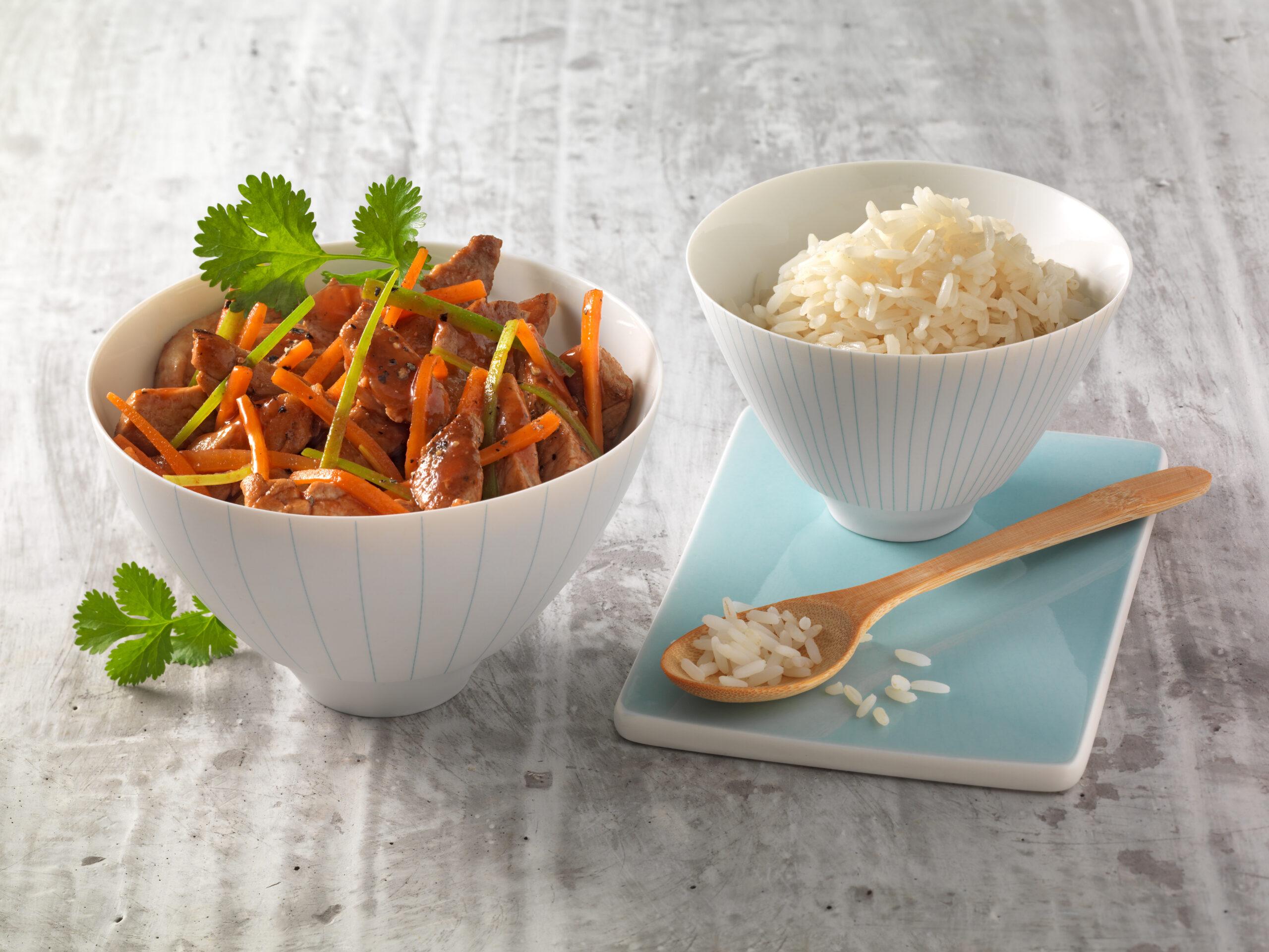 Indonesisches Reisfleisch