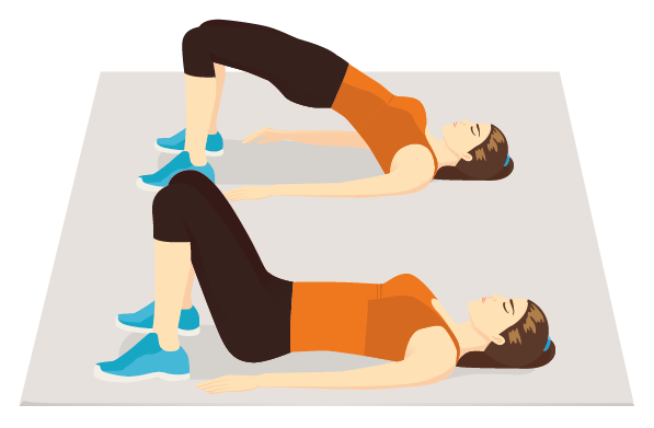 Beckenheben übung