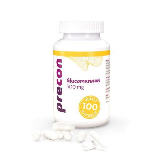 Glucomannan 500 Kapseln